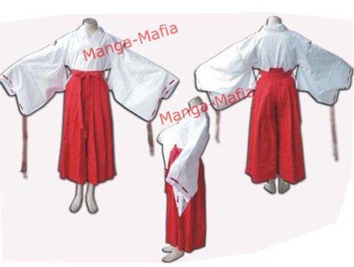 Inuyasha Kikyo Kostüm
