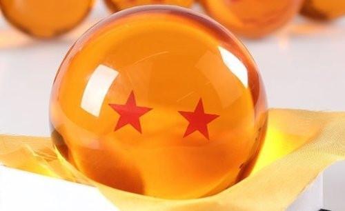 Dragon Ball 2 Sterne große Kristallkugel