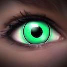 UV Green Kontaktlinsen