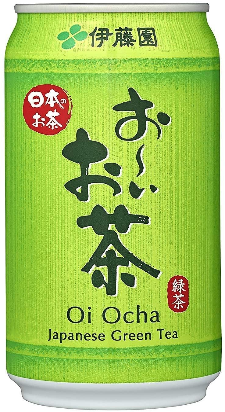 Oi Ocha Ryokucha - Grüner Tee - Dose 340ml