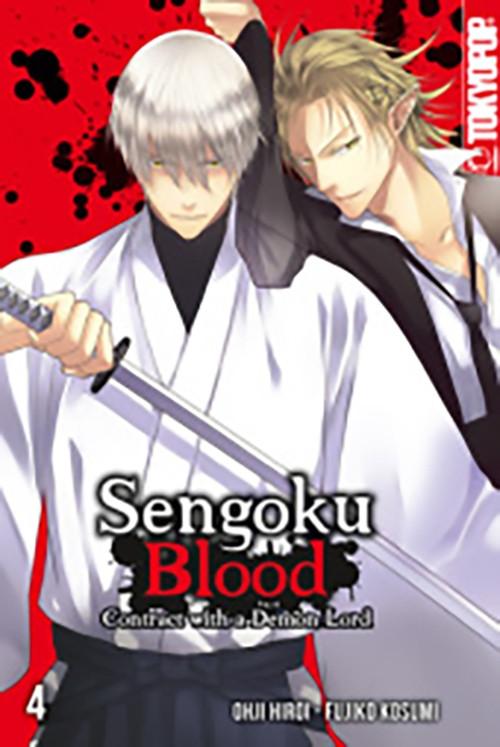 Sengoku Blood - Contract with a Demon Lord 4 Manga