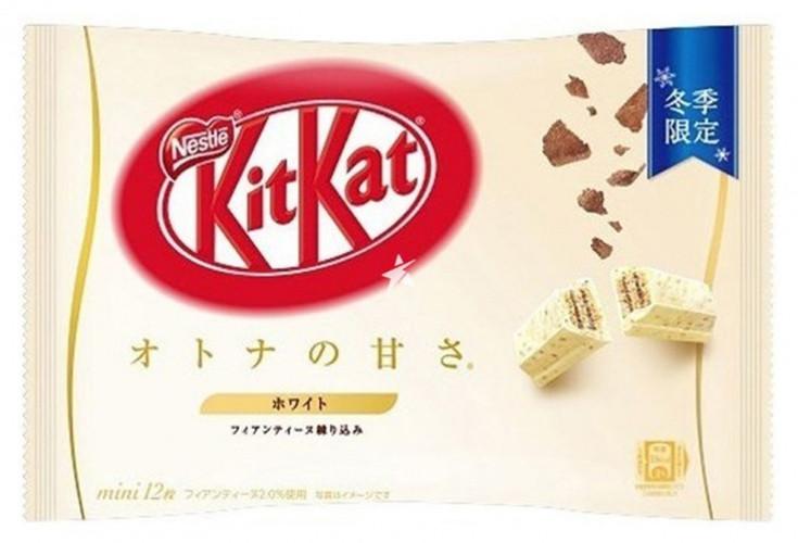 Kit Kat Mini White