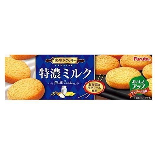 Tokuno Milk Cookie - Milch Kekse 80,4g