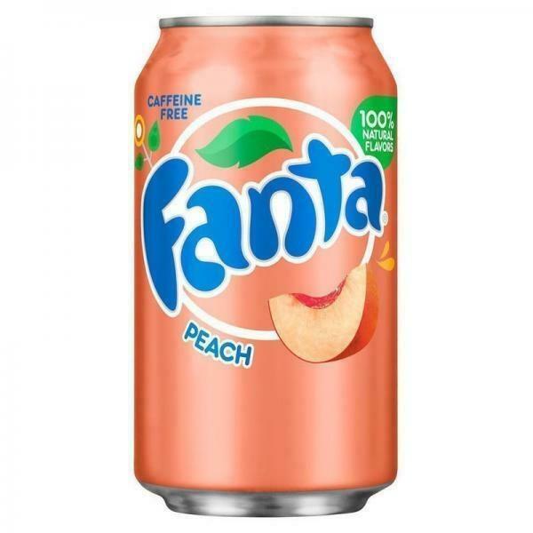 Fanta Peach 355ml Dose