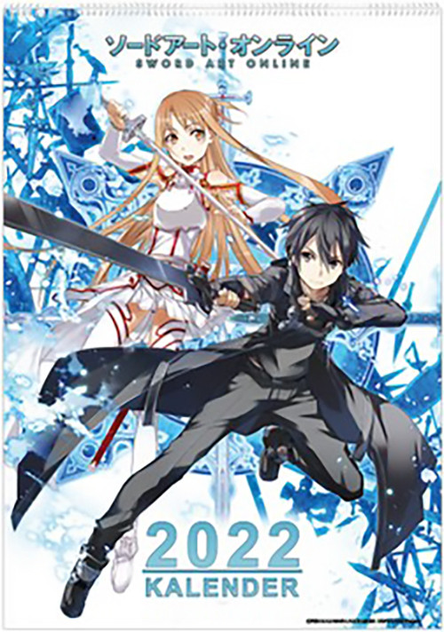 Sword Art Online - Wandkalender 2022