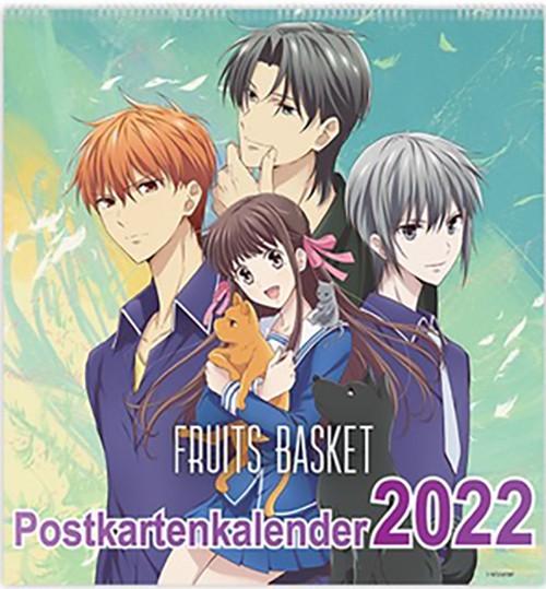 Fruits Basket - Postkartenkalender 2022