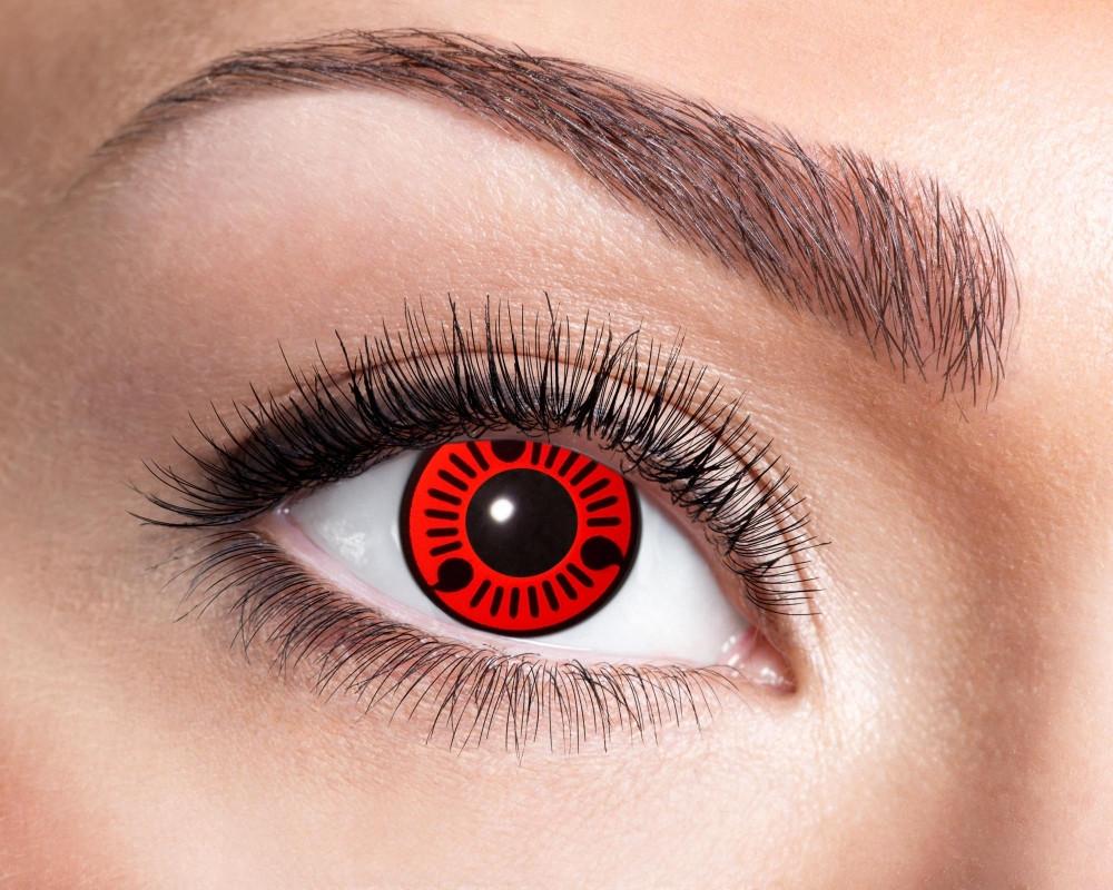 Red Itachi Mage World Exclusive Kontaktlinsen