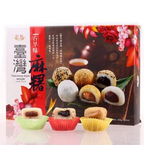 Mochi - Klebreiskuchen - Taiwanese Style mixed flavour in Geschenk-Box 300g
