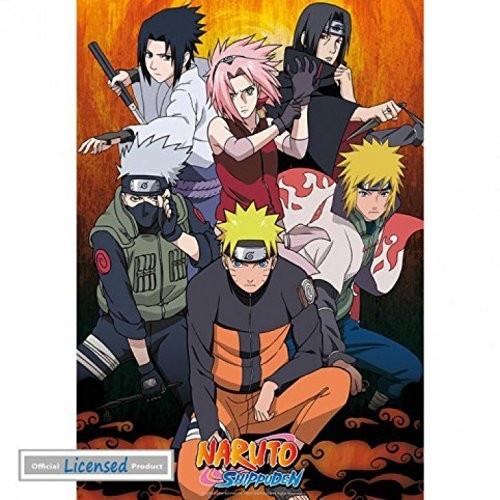 Naruto Shippuden Group  91,5x61cm Poster