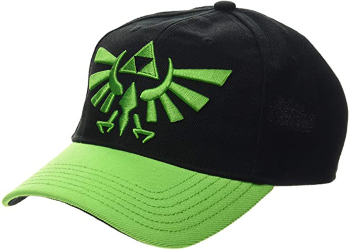 The Legend of Zelda - Hyrule Logo - Base Cap Schwarz Grün