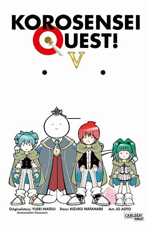 Korosensei Quest! 5 Manga