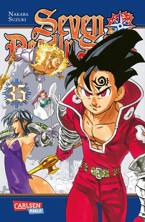 Seven Deadly Sins 35 Manga