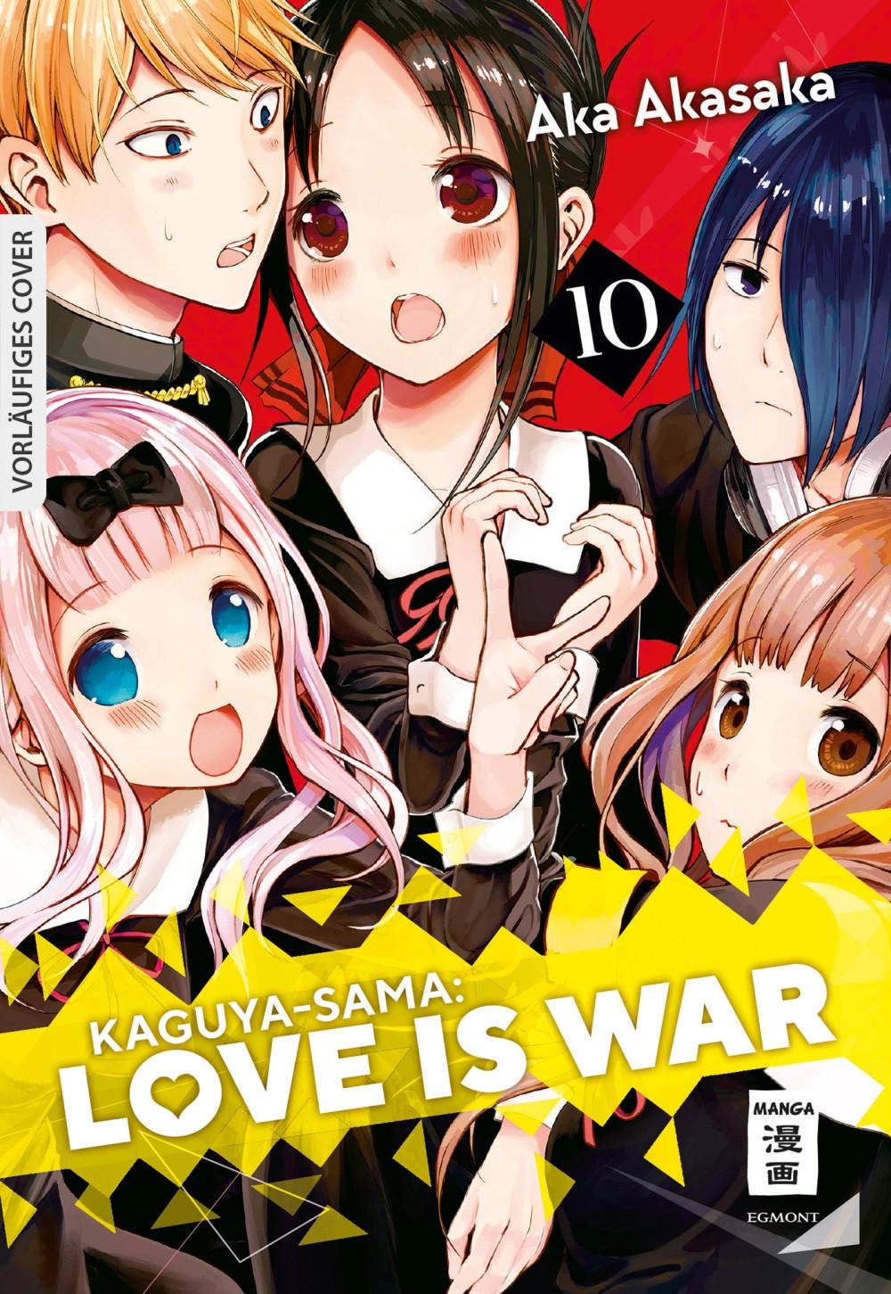 Kaguya-sama: Love is War 10 Manga