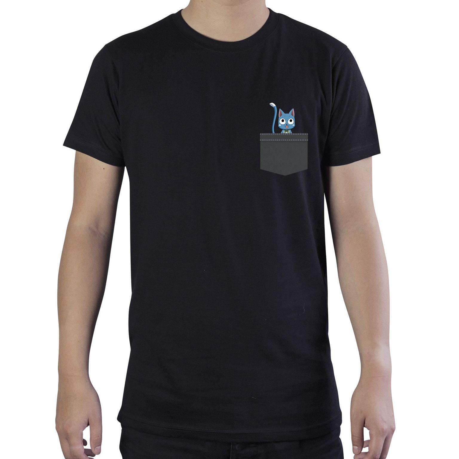 Fairy Tail - Pocket Happy - T-Shirt
