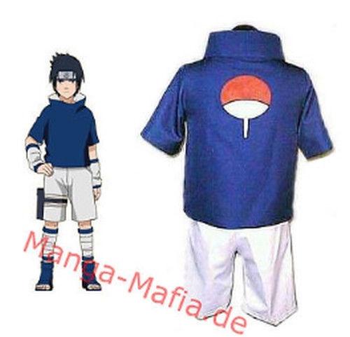 Naruto Sasuke Uchiha Cosplay Kostüm