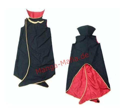 Code Geass Lelouch Lamperouge Mantel Cosplay Kostüm