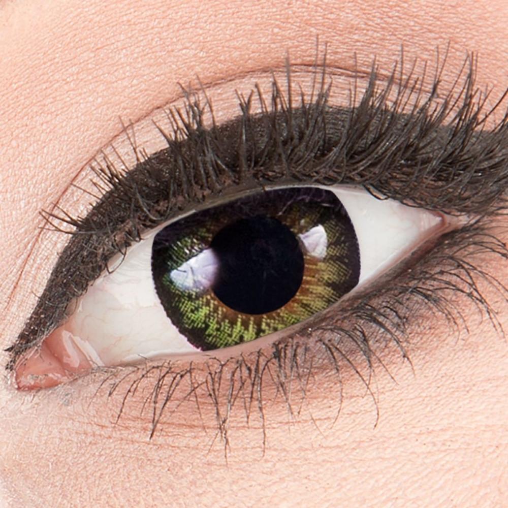Party Green Mage World Exclusive Kontaktlinsen