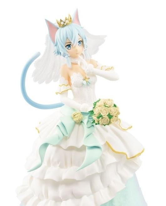 Sword Art Online: Code Register Sinon [Wedding Ver.] EXQ 21cm Figur