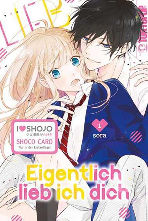 Eigentlich lieb ich dich 1 Manga