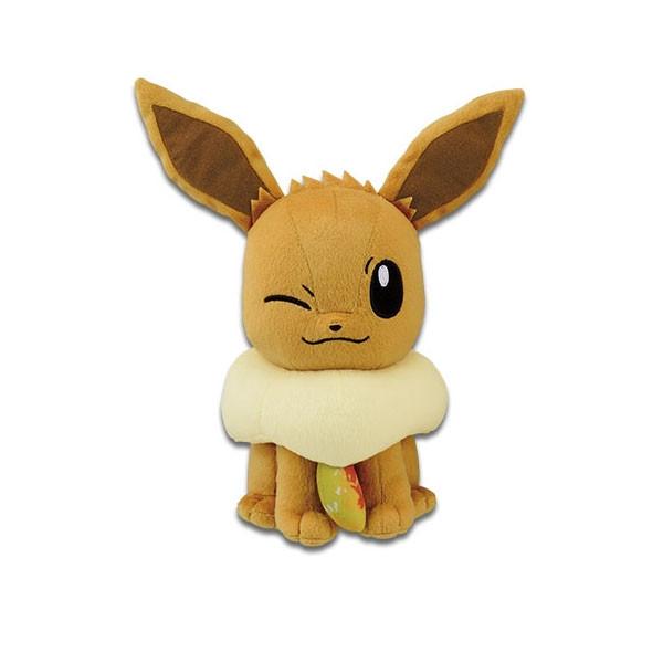 Pokemon Evoli mit Feuerstein 23cm Plüschfigur
