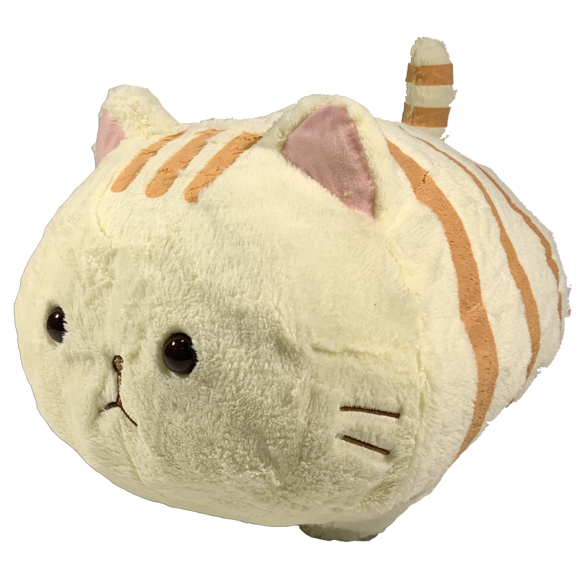 Amuse Marshmallow Cat Gestreift 38cm Plüsch