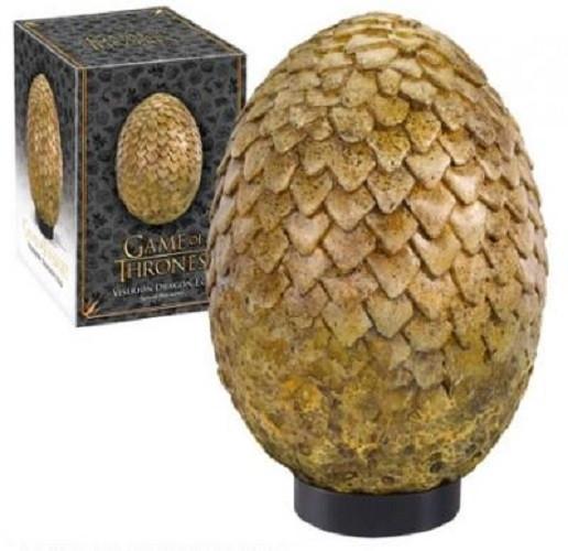 Game of Thrones Viserion Drachenei gold 19,5cm