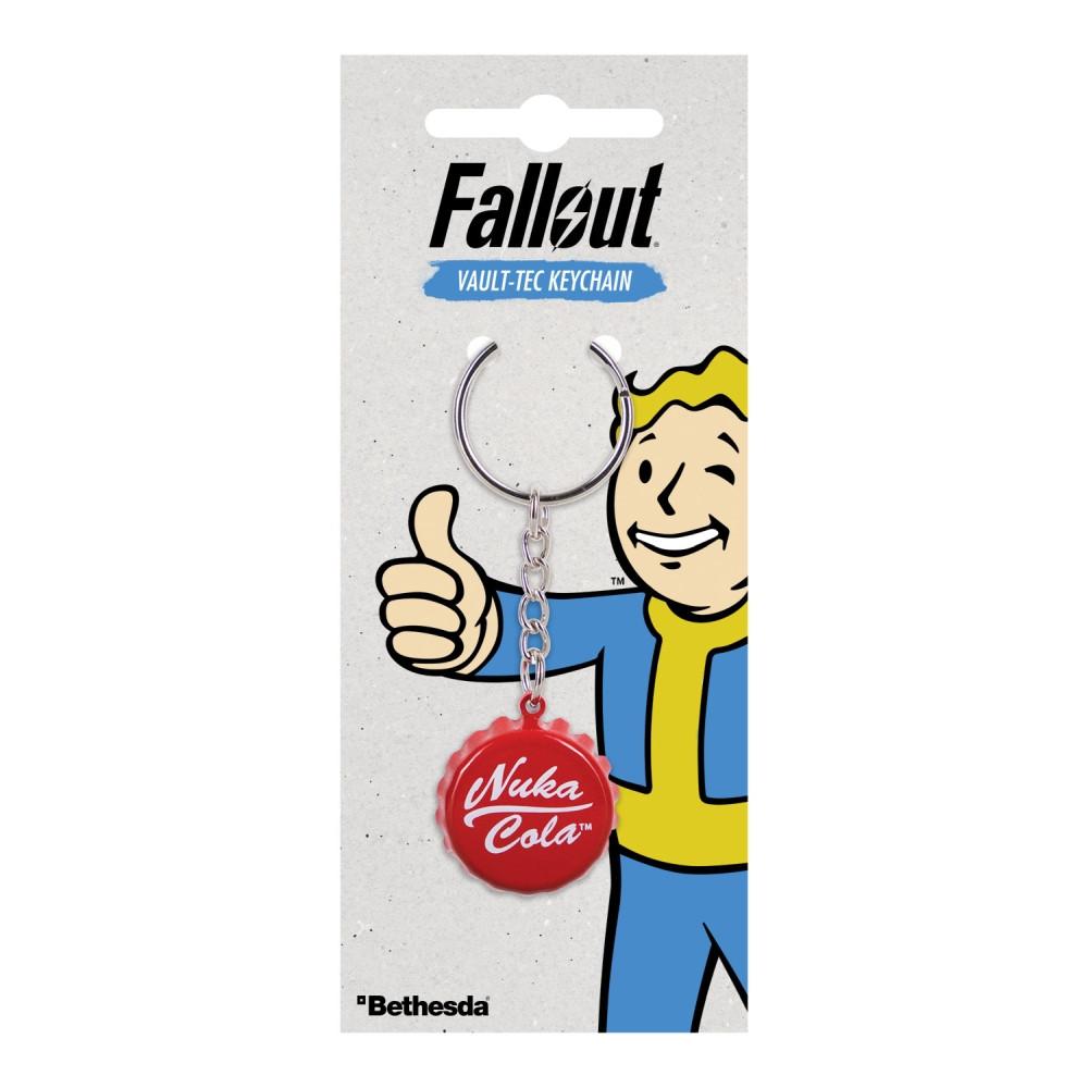 Fallout Nuka Cola Flaschenkappe Schlüsselanhänger