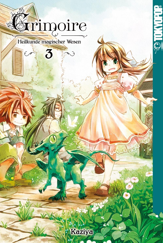 Grimoire – Heilkunde magischer Wesen 3 Manga
