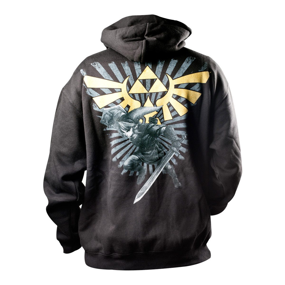 The Legend of Zelda Link with Golden Triforce Hoodie Größe S
