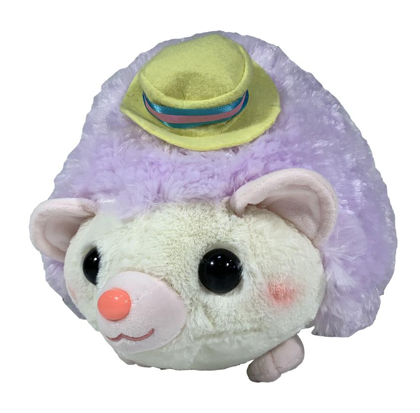 Amufun Amuse Hedgehog Harin Style Igel Lila 32cm Plüsch