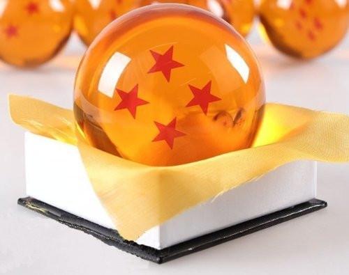 Dragon Ball 4 Sterne große Kristallkugel