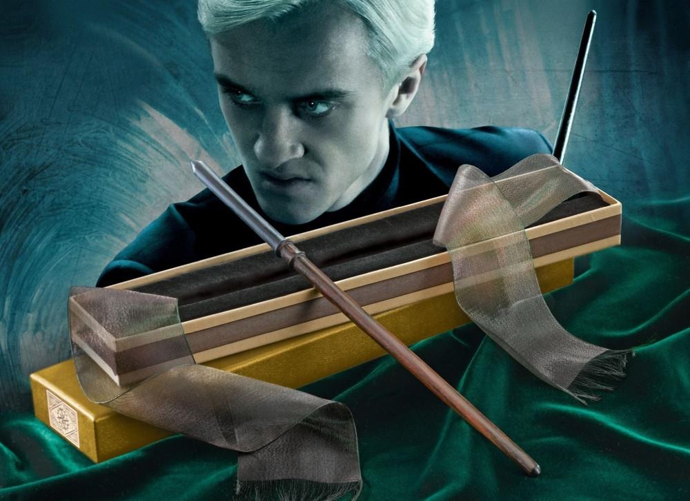 Harry Potter Draco Malfoy Olivander-Edition Zauberstab