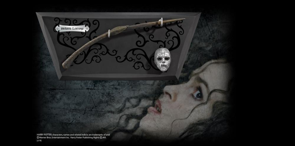 Harry Potter Bellatrix Lestrange Zauberstab mit Halterung