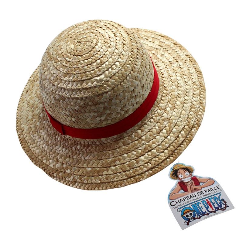 One Piece Ruffy Stroh-Hut für Erwachsene