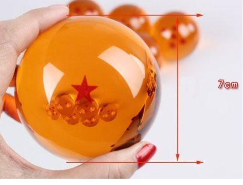 Dragon Ball 1 Stern große Kristallkugel