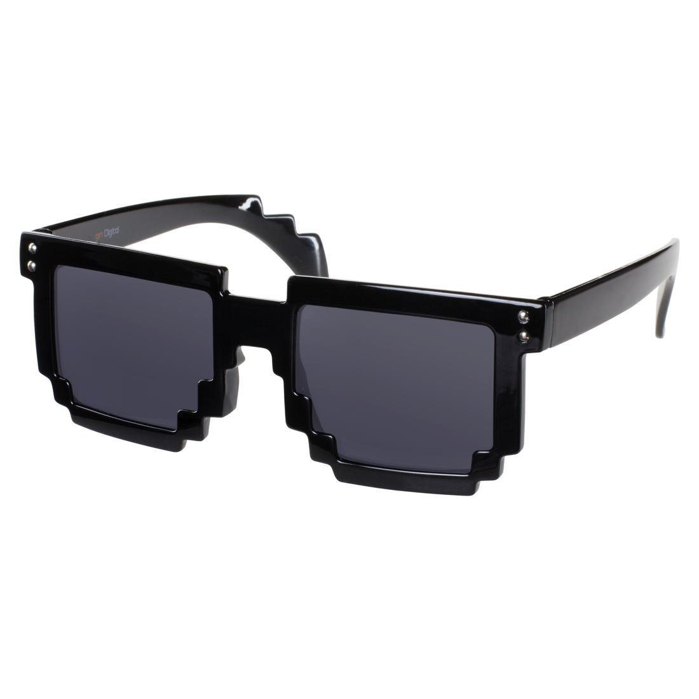 8 - BIT schwarz Pixel Sonnenbrille