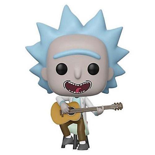 Funko POP! #489 - Rick and Morty - Tiny Rick w/ Guitar - 9cm Vinyl Figur