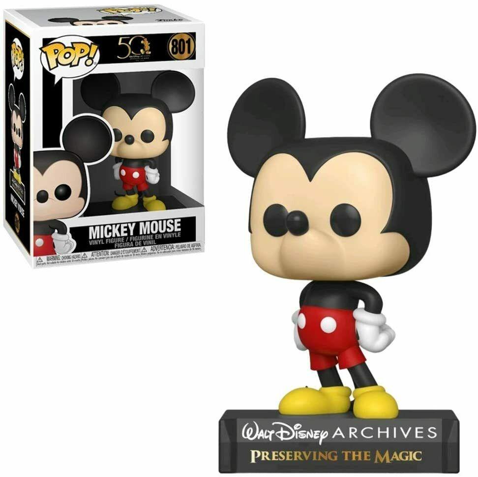 Funko POP! #801 - Walt Disney Archives - Mickey Mouse - 9cm Vinyl Figur