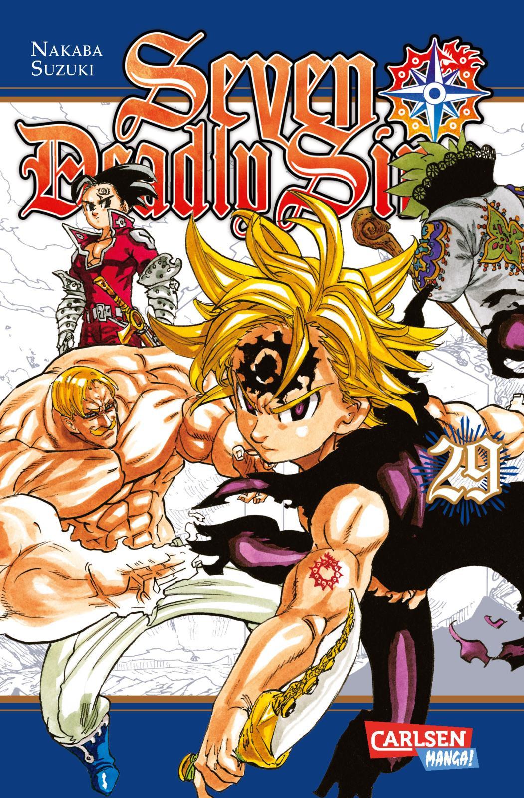 Seven Deadly Sins 29 Manga