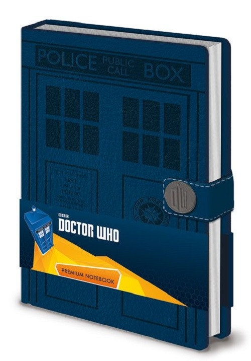 Doctor Who Tardis A5 Premium Notizbuch