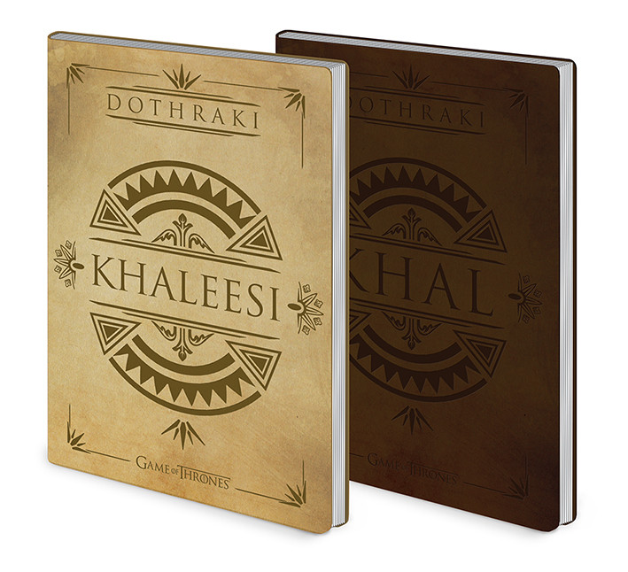 Game of Thrones - Dothraki Khal & Khaleesi - Flexcover A5 Notizbuch