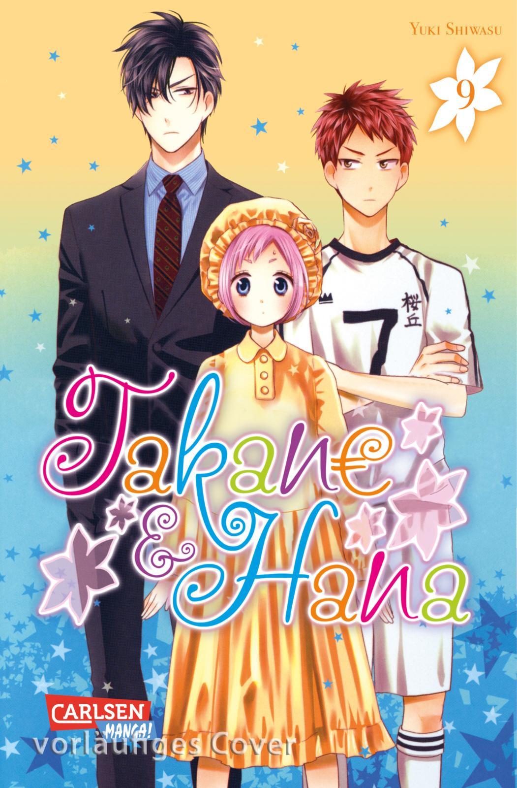 Takane & Hana 9 Manga