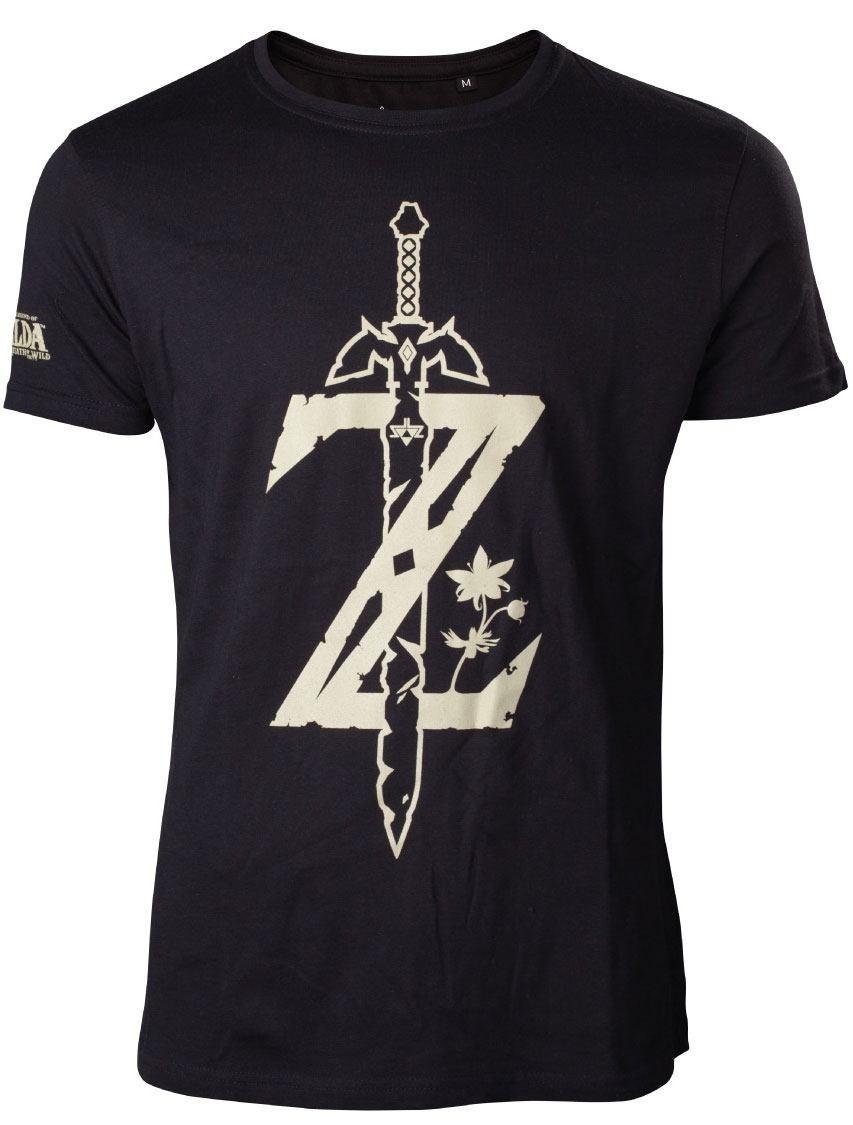 The Legend of Zelda Z mit Schwert T-Shirt Größe XXL