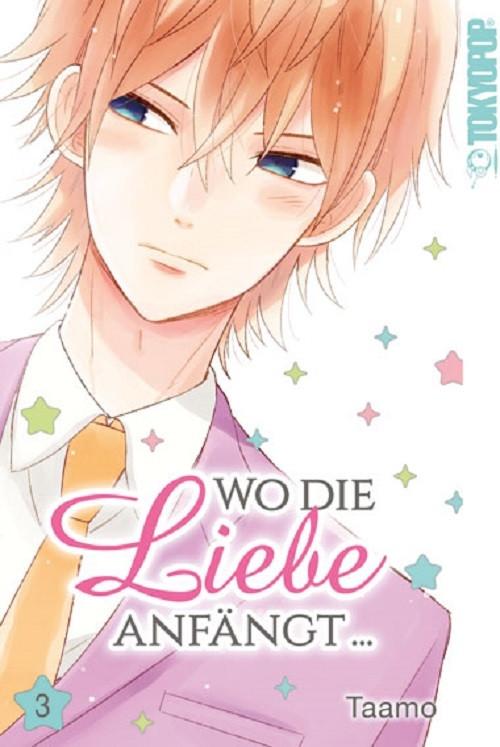 Wo die Liebe anfängt 3 Manga
