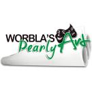 Worblas Pearly Art Platte Größe S